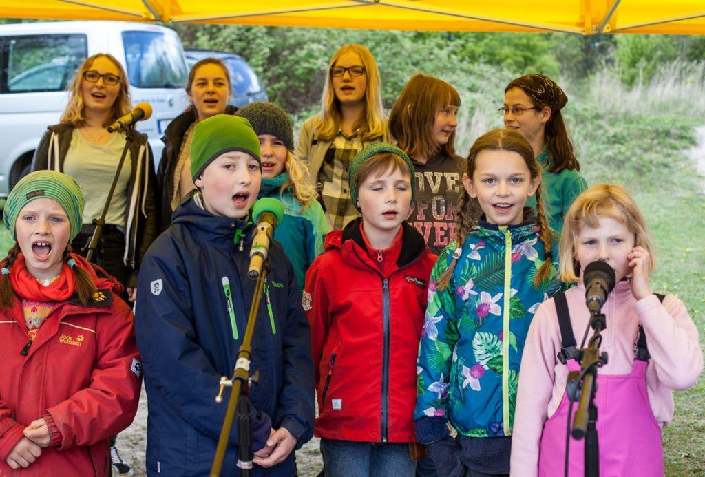 Kinderwaldchor Frühlingsfest Kinderwald