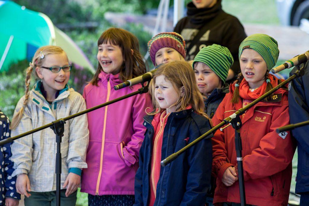 Kinderwaldchor Frühlingsfest Kinderwald 2