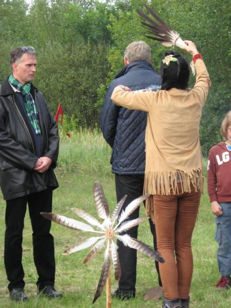 Trauerfeier Elk Chief 18