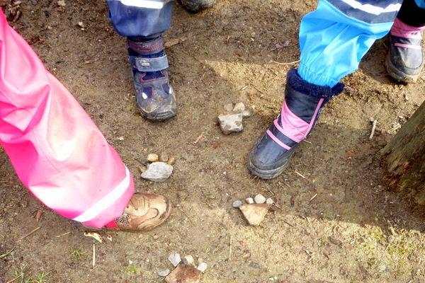 Forschen und Bauen im Kinderwald