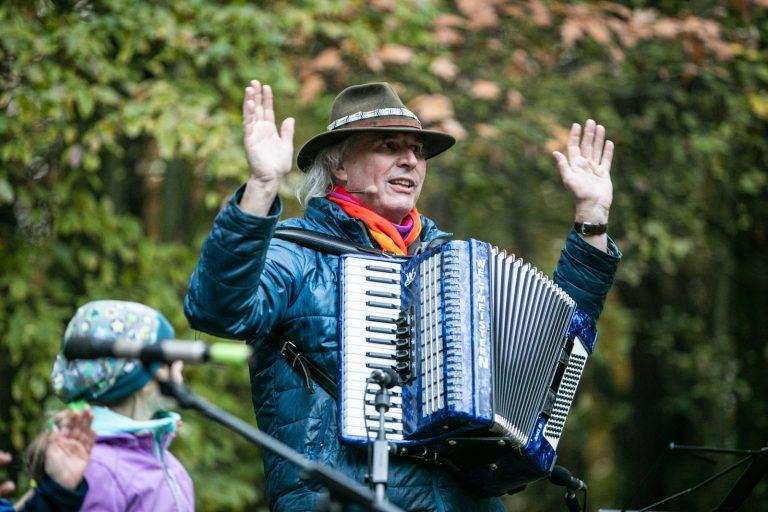 Lichterfest am 11.11.2019 im Kinderwald in Hannover Foto:Franz Bischof