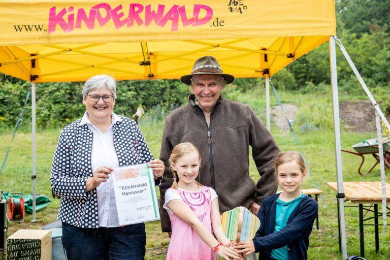Kinderwald Hannover – Ausgezeichnetes Projekt der UN-Dekade Biologische Vielfalt