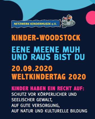 AUSVERKAUFT! – KINDER-WOODSTOCK OpenAir-Festival im Kinderwald Hannover