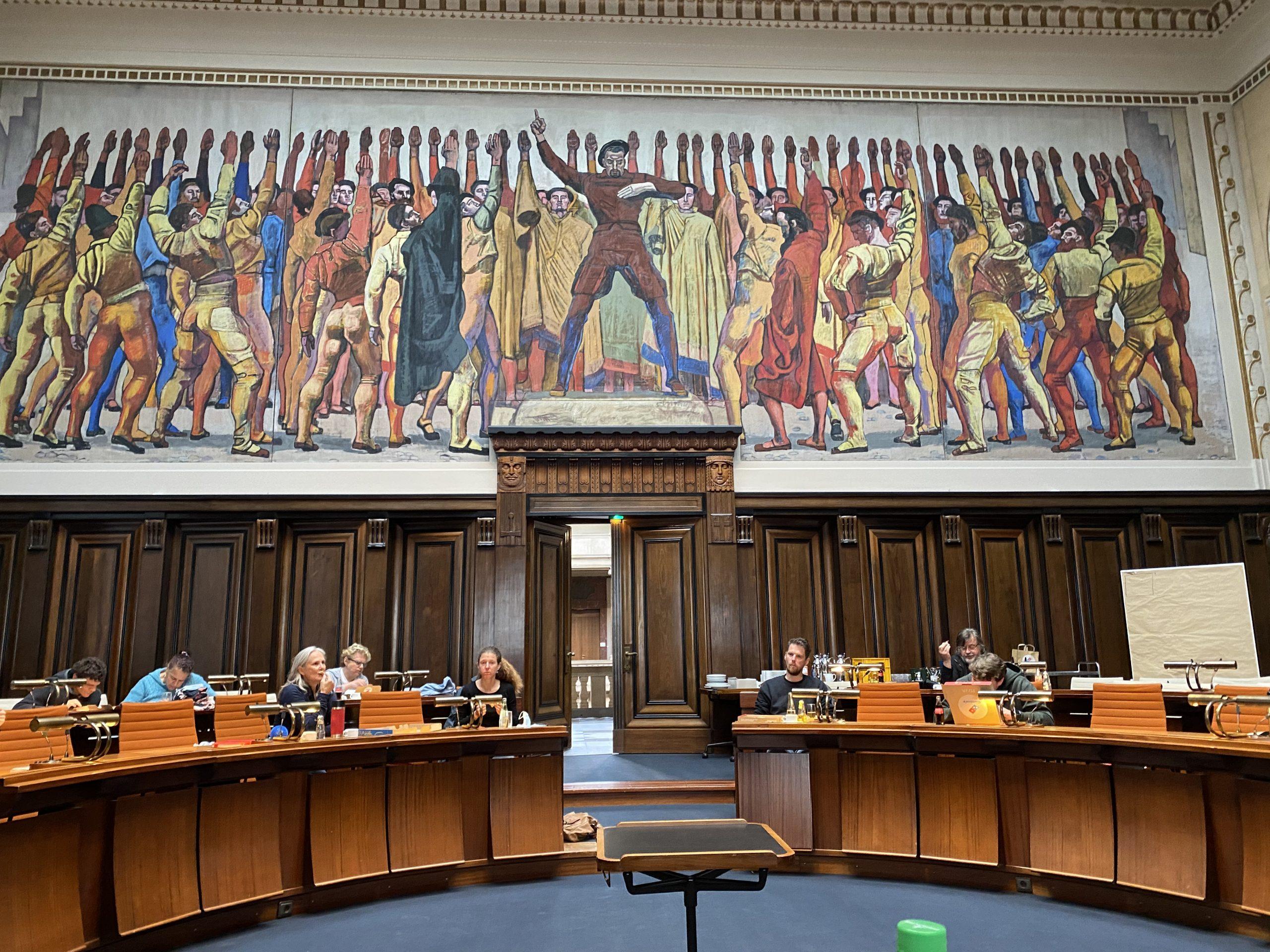 Herbst-Klausurtagung im großen Plenum