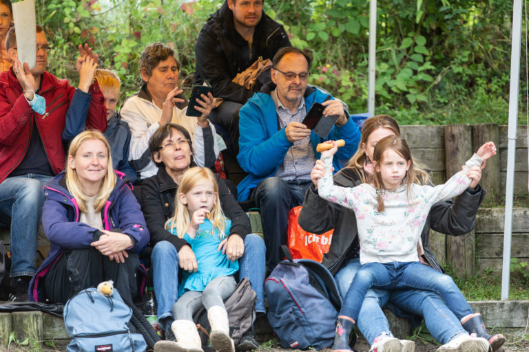 Ferienabschlusskonzert der Sommerferien 2021 im Kinderwald in Hannover. Foto: Franz Bischof